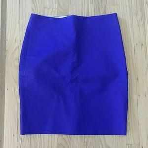 NWT JCrew purple pencil skirt size 2 Petite
